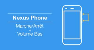 Capture d'écran sur téléphone Nexus