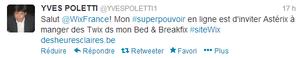 """Concours Wix: """"Tweetez-nous votre super-pouvoir"""""""