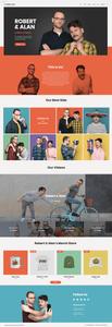 Wix templates: Internet comedians