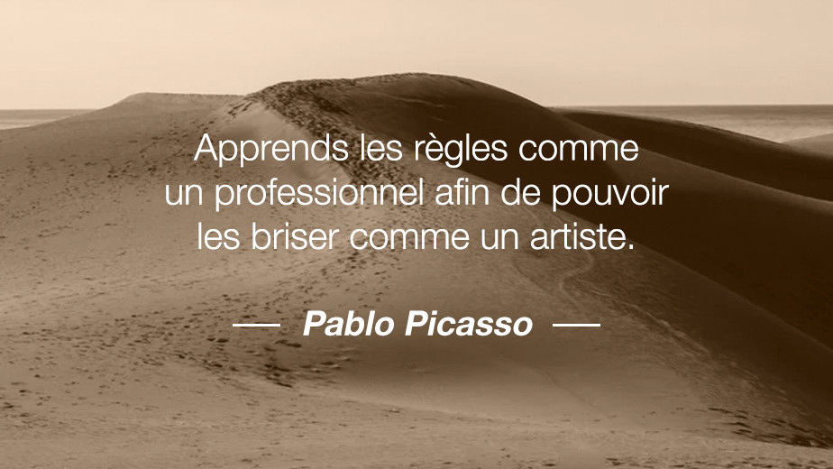 Citation Pablo Picasso
