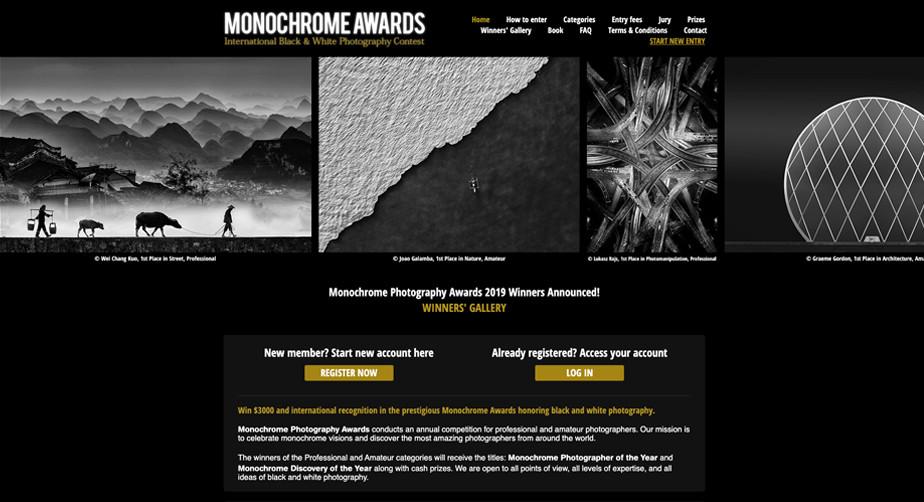 Monochrome Photography Award