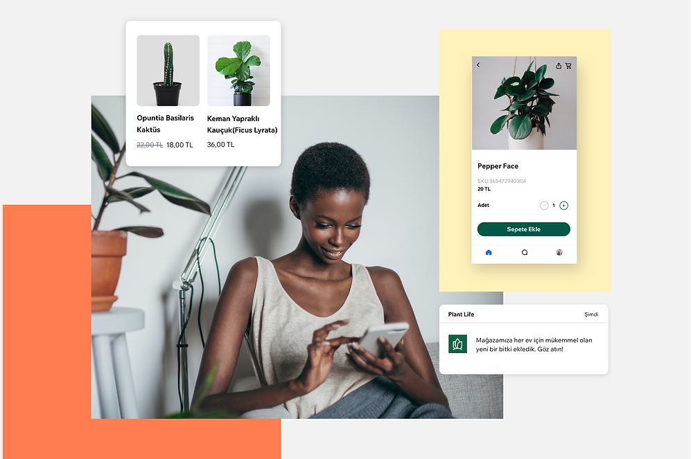 wix owner uygulamasıyla mobil uygulama deneyimi yaratın