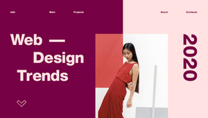 Web Trends 2020.Top 10 Web Design Trends For 2020