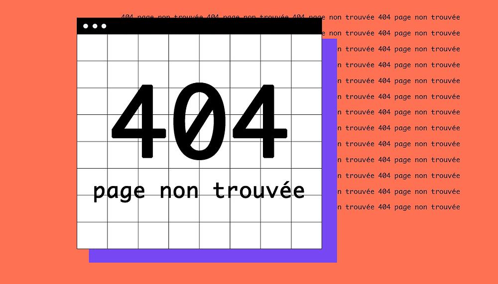 Les pages 404 les plus créatives du web