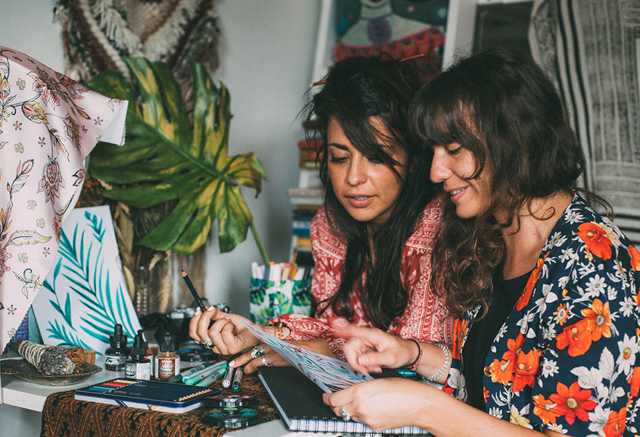 Work with friends to help with creative block