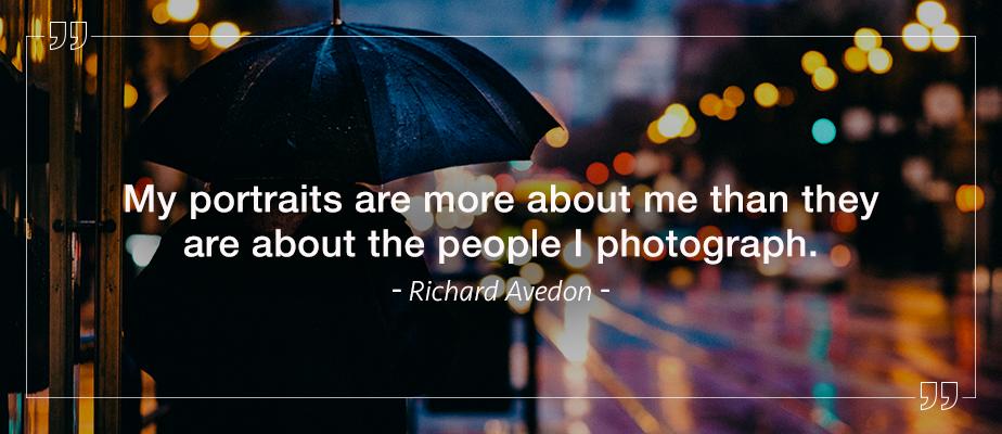 richard avedon portrait photography quote