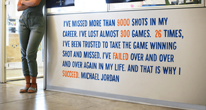 Motivational Quotes - Wix Office Art