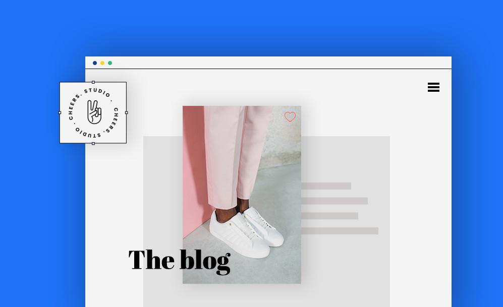 Logos Criativos para blogs