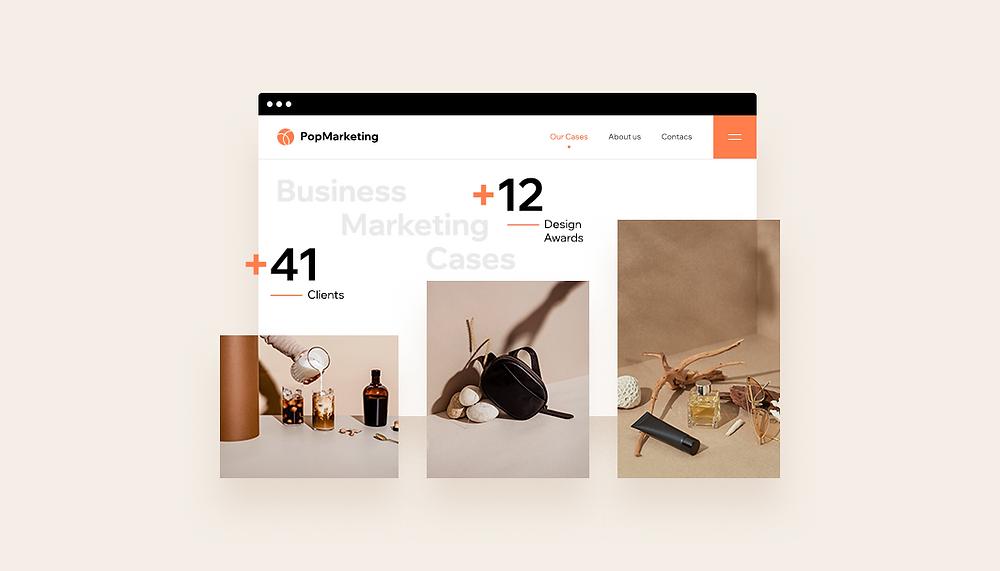 Marketing per siti: come creare un portfolio online (con esempi)