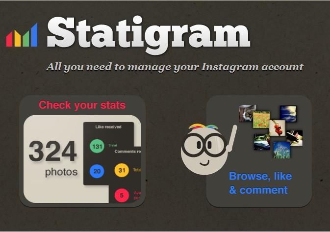 Página de Inicio de Statigr.am