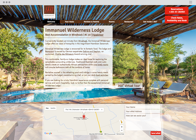 Immanuel Wilderness Lodge