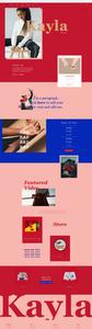 Wix templates: Musician website