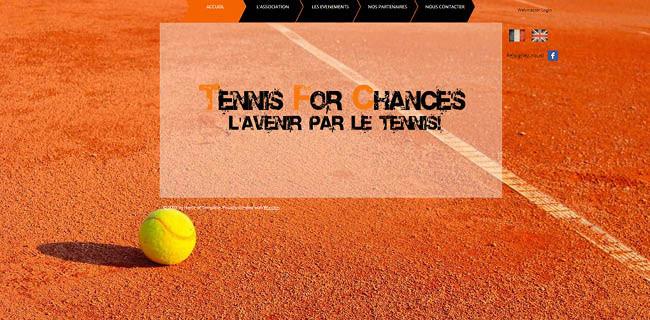 Site : Tennis for Chances