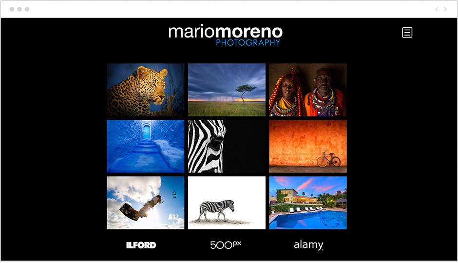 Galería de imágenes de la web del fotógrafo Mario Moreno