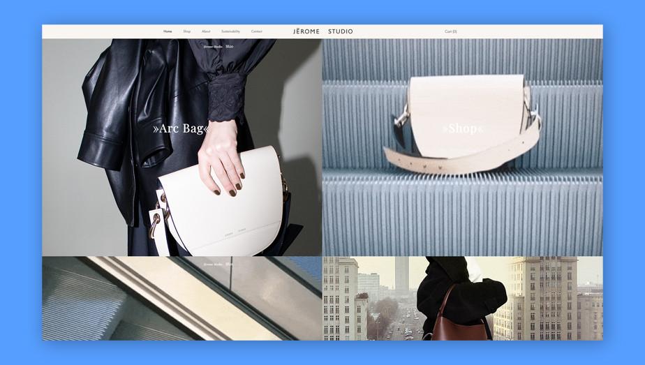 Best website design by Jerome Studio