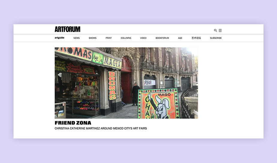 Best art blogs - Artforum