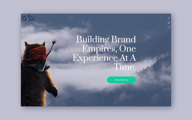 Run Wild Design UX web design