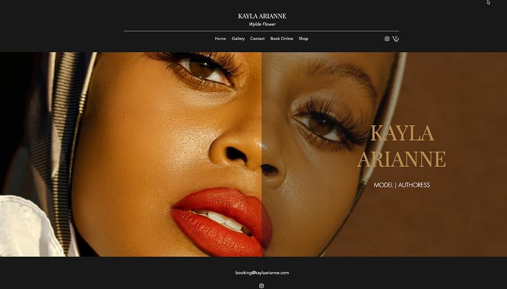 Portafolio de modelaje de Kayla Arianne