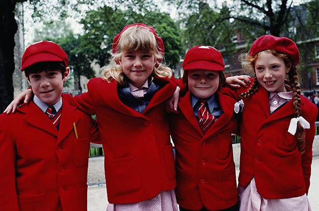 Uniformes Escolares: Ayer y Hoy