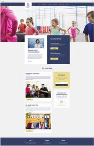 template gratuit site école cours particuliers