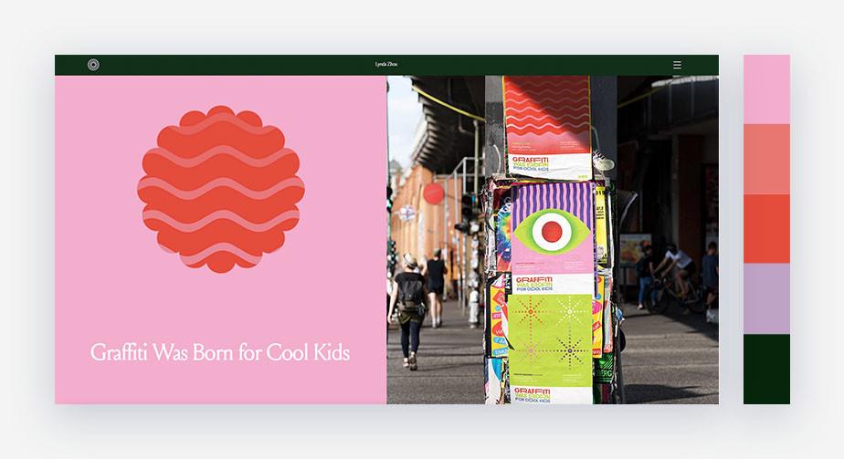 50 paletas de cores para o seu site: tons pastel que se complementam