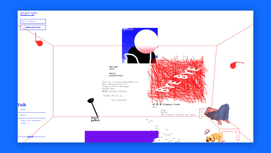 Best website design by Invert Gallery