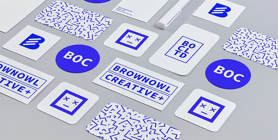Business card design by Brown Owl Creative.