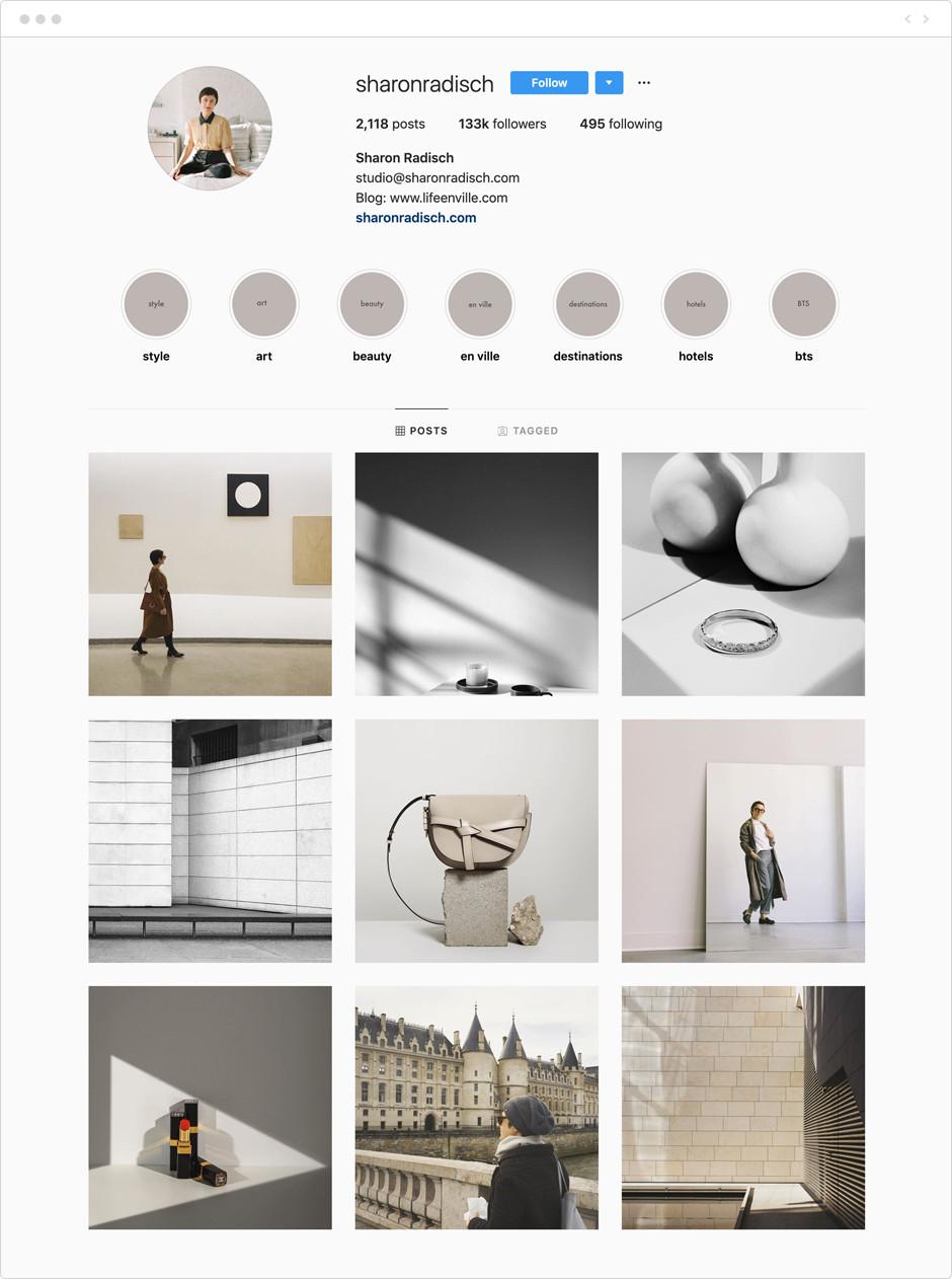Sharon Radisch - Photographes à suivre sur Instagram