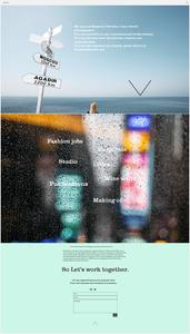site photographie ben deroche créé avec Wix