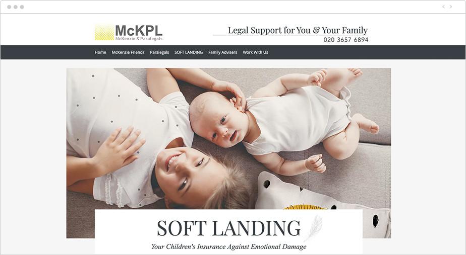 Best law firm websites McKenzie & Paralegals