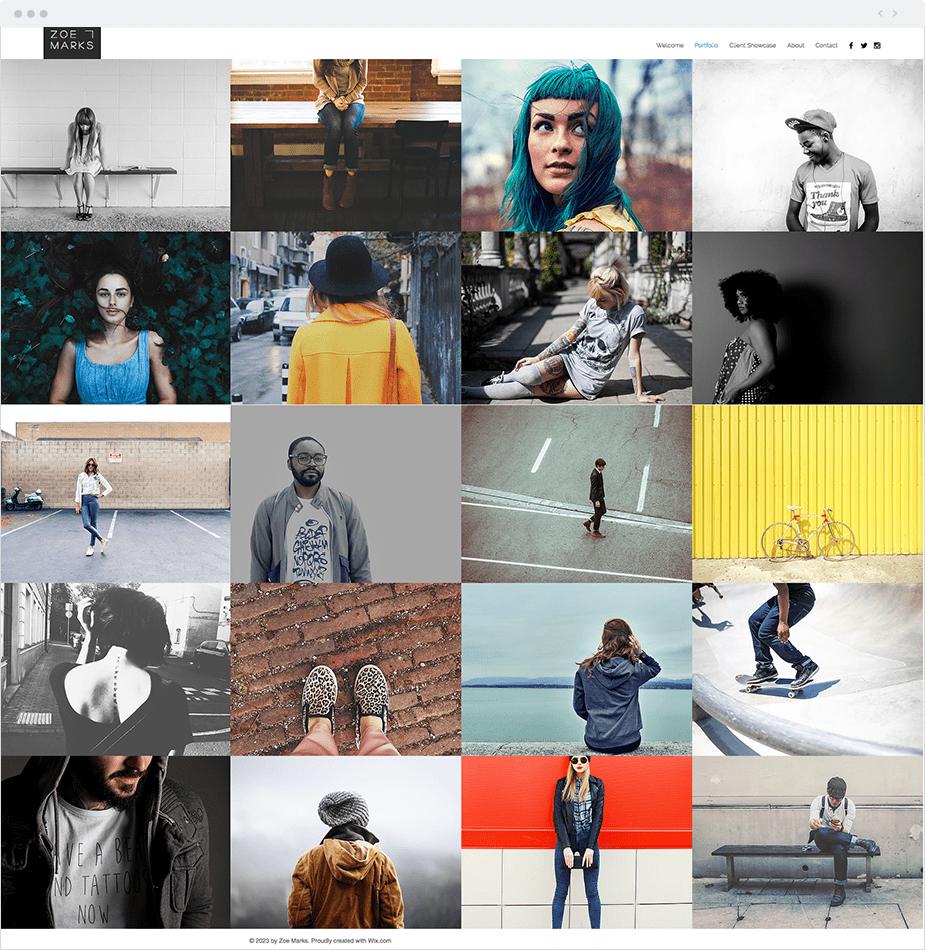 Urban Photography Website