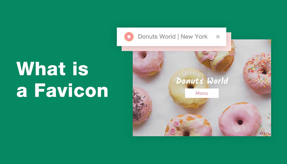 What is a favicon and donut favicon example
