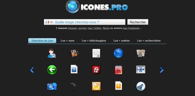 Icônes Pro