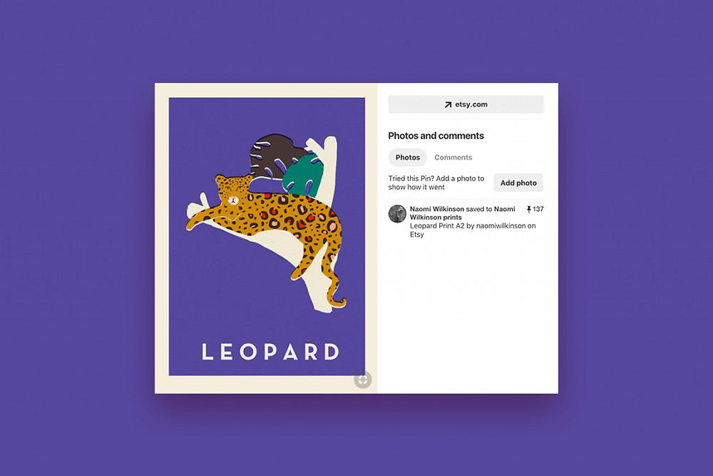 Leopard print by Naomi Wilkinson on Pinterest