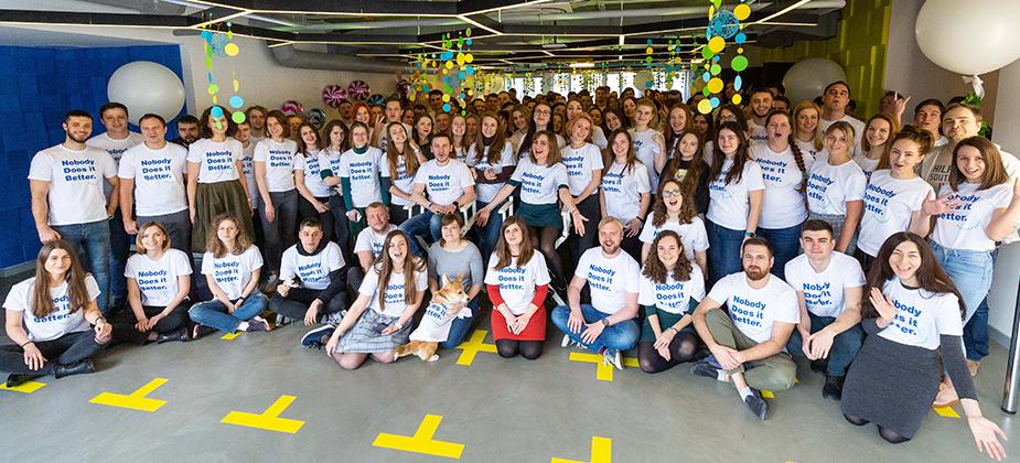 Wix Kiev werknemers