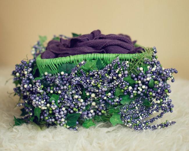 Hermosa canasta decorada