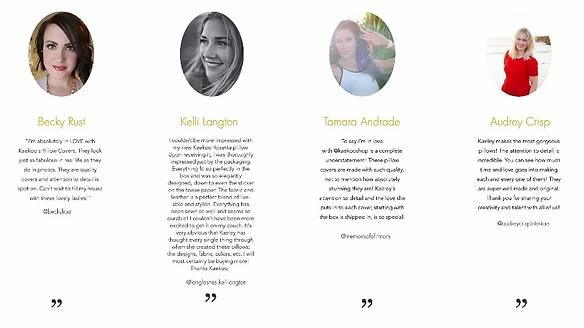 Esempio recensioni clienti su sito Kaekoo