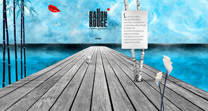 Studio ballon rouge