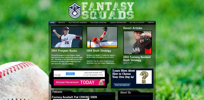 Site : Fantasy Squads