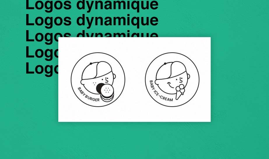 exemple de logo dynamiques