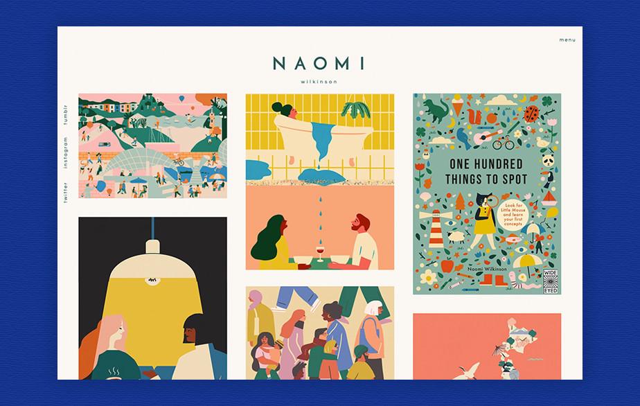 Naomi Wilkinson illustration portfolio