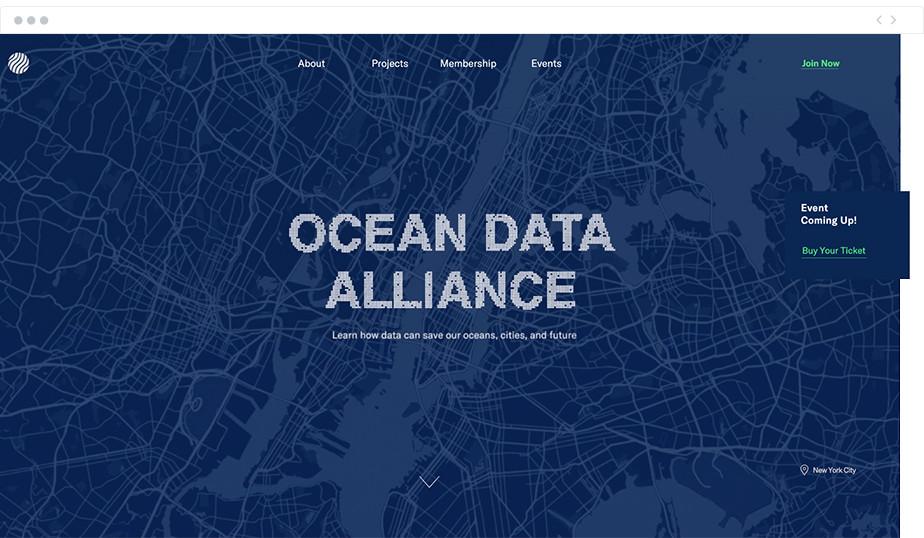 Ocean Data Alliance nonprofit website