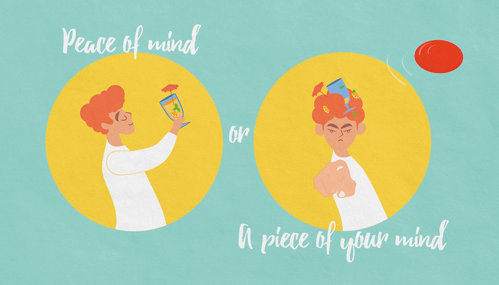 """""""Peace of Mind"""" or """"Piece of Mind"""" Which Is It"""