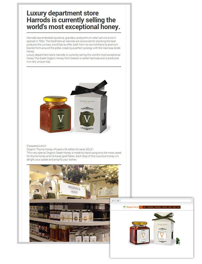 Stayia Farm - newsletter Wix