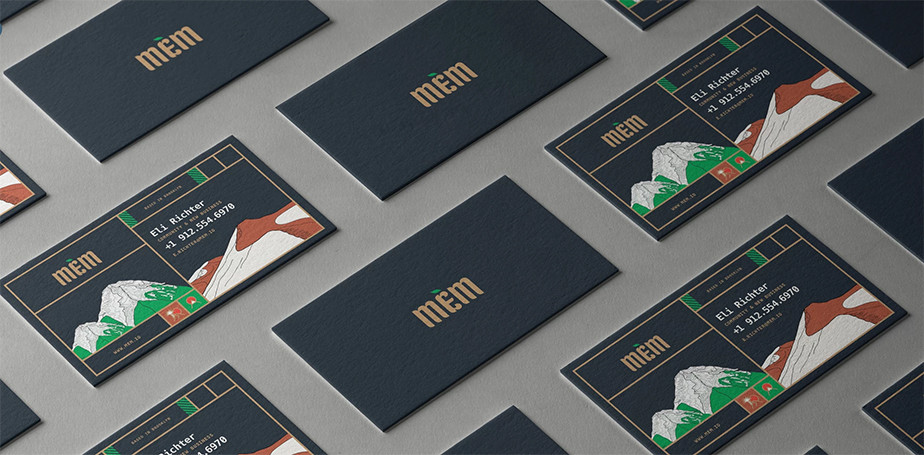 Business Visitenkarte designt von Wix-Nutzerin Liron Ashkenazi-Eldar, für The-Artery