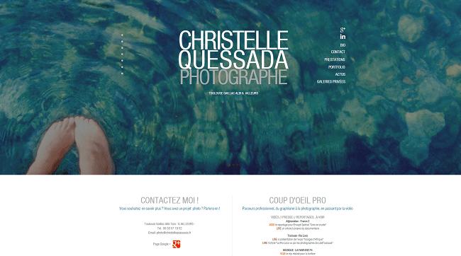 Christelle Quessada PHOTOGRAPHE