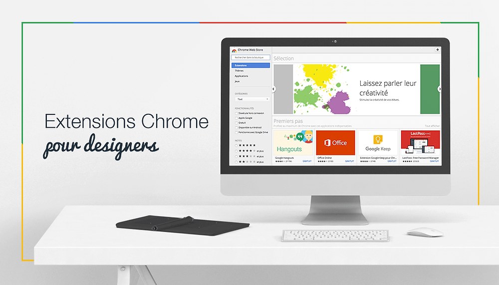 10 extensions Chrome pour Designers