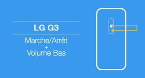 Capture d'écran sur LG G3