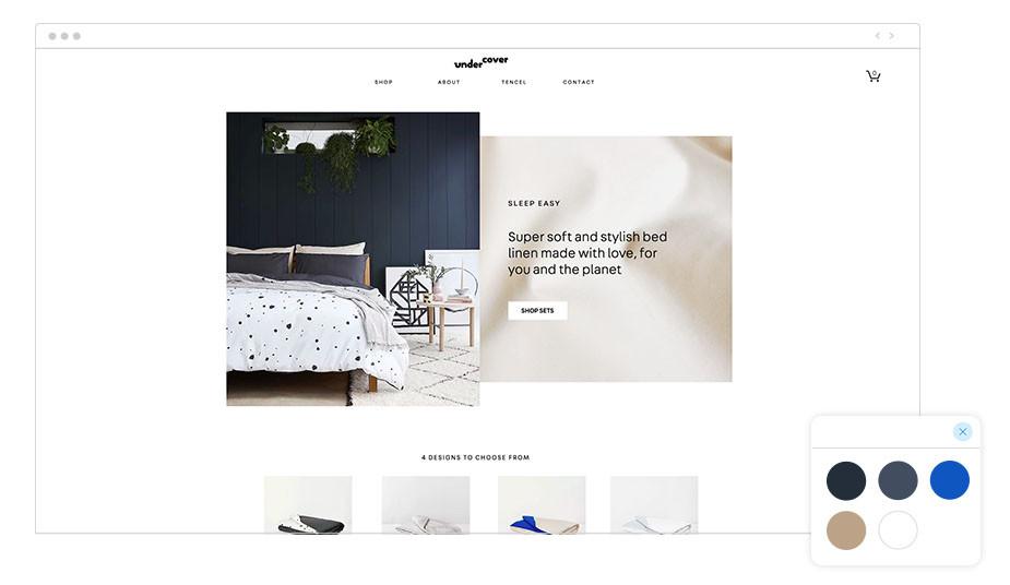 Undercover Wix website