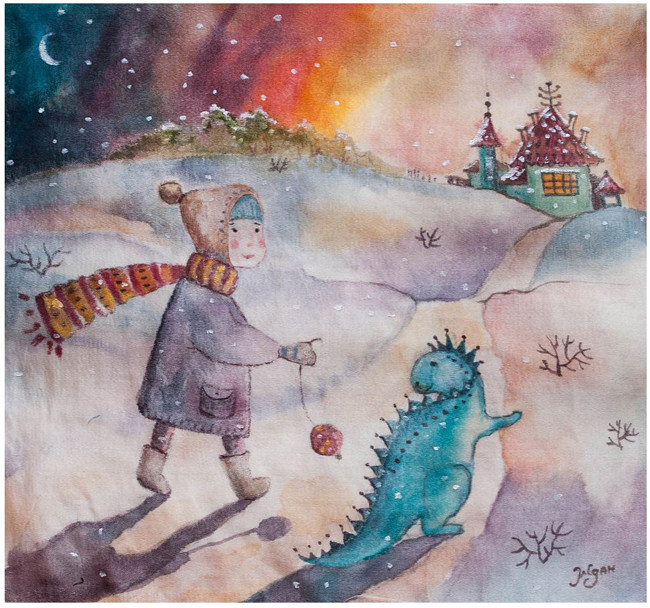 «Друзья», Мария Ждан